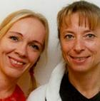 Mia Lindén och Marita Jansson