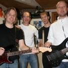 Orkestern Patrik Lönneman, Rolf Zaar, Pål Norman, Jerk Norman (kapellmästare)