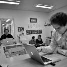 Manusskriveri på en förskola
