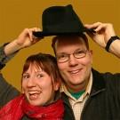Foajé Linda Niska och Henrik Olson